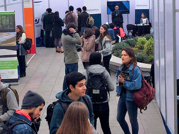 Law Job Fair at Universidad de Chile