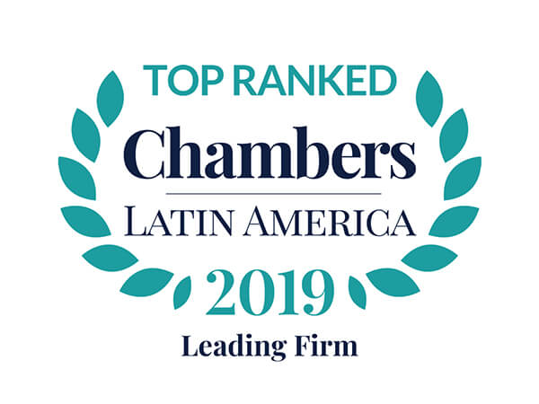 Leading Firm in Chambers & Partners Latin America 2019