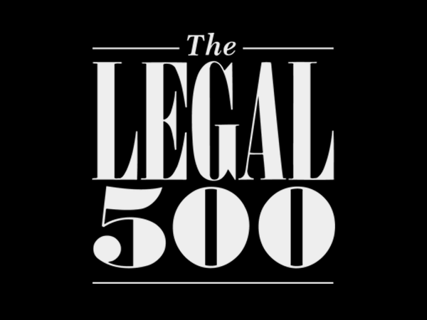 The Legal 500 destaca a nuestra firma