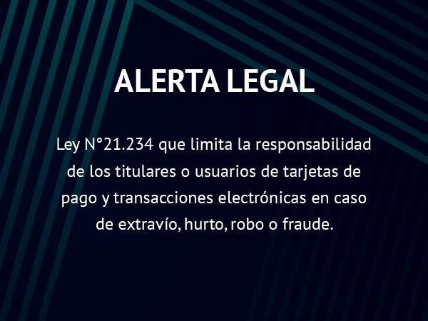 Alerta Legal: Ley N°21.234